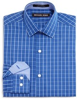 Michael Kors Boys' Windowpane Check Dress Shirt - Sizes 8-18