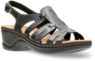 Clarks Lexi Marigold Q Women's Leather Strappy Sandals