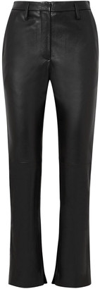 Golden Goose Cembra Leather Flared Pants