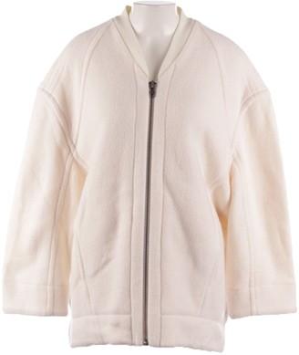 Helmut Lang White Wool Jackets