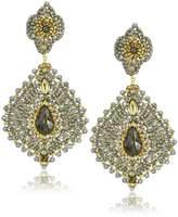 Miguel Ases Labradorite Lotus Drop Earrings