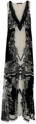 Roberto Cavalli White Silk Dresses