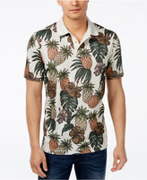Tasso Elba Men's Pineapple Polo Shirt, Only at Macy's