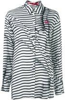 McQ by Alexander McQueen 'Swallow' waist tie shirt