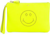 Anya Hindmarch Zip Top Pouch Smiley