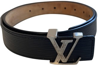 Louis Vuitton Black Cloth Belts