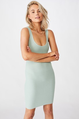Supre Maggie Square Neck Knit Dress