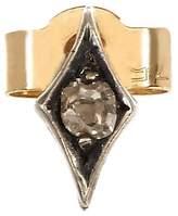 Annina Vogel Gold and Diamond Evil Eye Single Earring