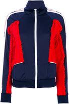 MSGM gathered sports jacket - women - Polyamide/Polyester/Polyimide - 40