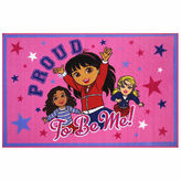 Asstd National Brand Proud To Be Me Rectangular Rugs