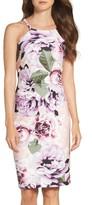 Vince Camuto Women's Crepe Halter Body-Con Dress