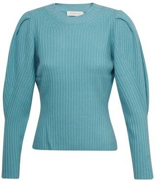 Zimmermann Ladybeetle draped sweater