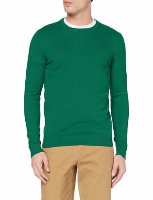 Izod Men's 12gg Crew Neck Sweater Jumper