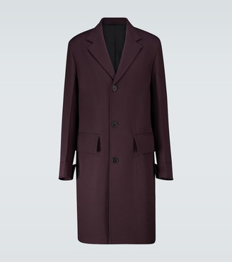 Oamc Bridge wool coat