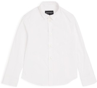 Emporio Armani Kids Long-Sleeved Dress Shirt (4-16 Years)