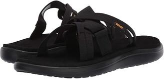 Teva Voya Slide (Black) Women's Shoes