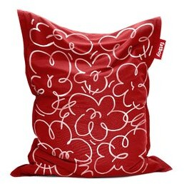Fatboy Large Bean Bag Chair & Lounger Fabric: Red