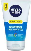Nivea MEN® Active Energy Fresh Look Face Wash Gel 100ml