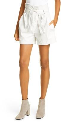 BA&SH Sol Paperbag Waist Shorts