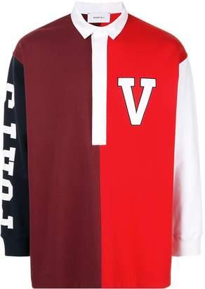 Ports V logo polo shirt