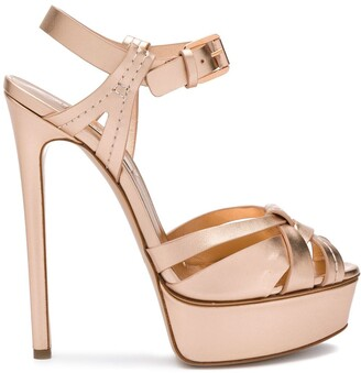 Casadei Platform Stiletto Sandals