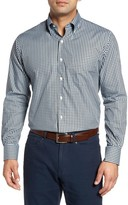 Peter Millar Men's Midwinter Gingham Regular Fit Sport Shirt