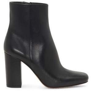 Vince Camuto Dannia Leather Square-Toe Booties