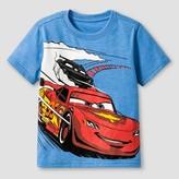Cars Toddler Boys' Disney Pixar Short Sleeve T-Shirt - Blue