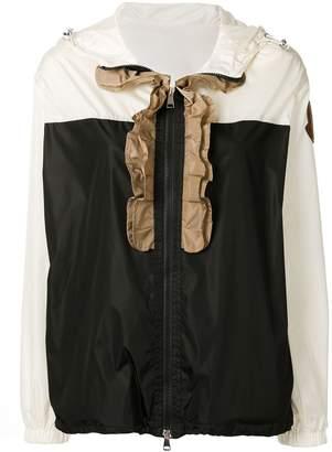 Moncler Cinabre ruffled zipped jacket