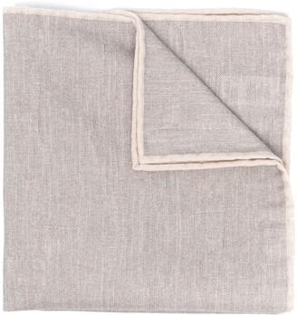 Eleventy Woven Pocket Square