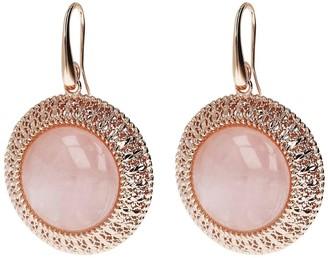 Bronzo Italia Gemstone Dangle Earrings