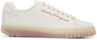 Salvatore Ferragamo Cube 28 low-top sneakers