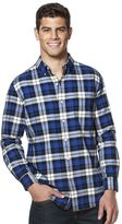 Chaps Men's Classic-Fit Oxford Checked Button-Down Shirt