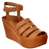 Chocolat Blu Wilson Leather Wedge.