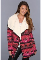 MinkPink The Wanderer Coat (Multi) - Apparel