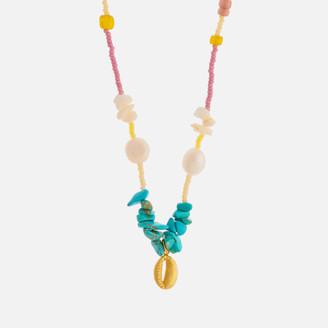Anni Lu Women's Bounty Necklace - Surf Spray