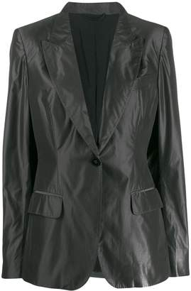Burberry Pre-Owned 2010's lightweight notched blazer