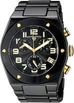 "Swiss Legend Men's 10028-BKBGA ""Throttle"" Ceramic Watch"