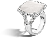 John Hardy Classic Chain Magic Cut Ring, Silver, 20x15MM Gems, Diamonds