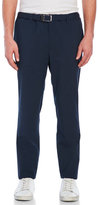 Jil Sander Belted Tapered Wool Sport Pants