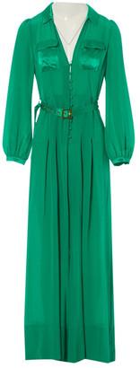 Agent Provocateur Green Silk Jumpsuit for Women