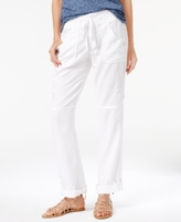 INC International Concepts Petite Pull-On Cargo Pants, Created for Macy's