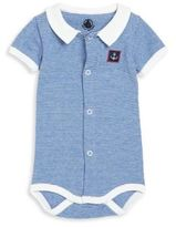 Petit Bateau Baby's Striped Bodysuit