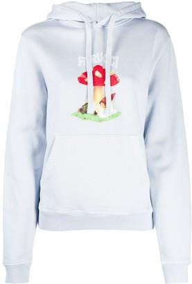 Fiorucci Mushroom print hoodie