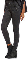 KUT from the Kloth Connie Camo Print Ankle Zip Detail Skinny Jeans