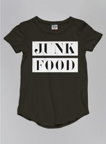 Junk Food Clothing Kids Girls Tee-jtblk-s