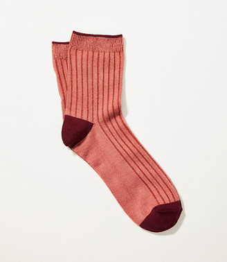 Lou & Grey Colorblock Ribbed Socks
