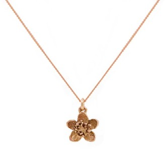 Lee Renee Cherry Blossom Necklace Rose Gold