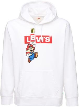 Levi's Super Mario Box Sweatshirt Hoodie