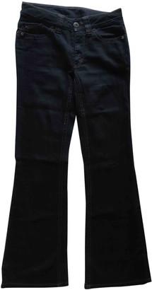 Sportmax Blue Cotton - elasthane Jeans for Women